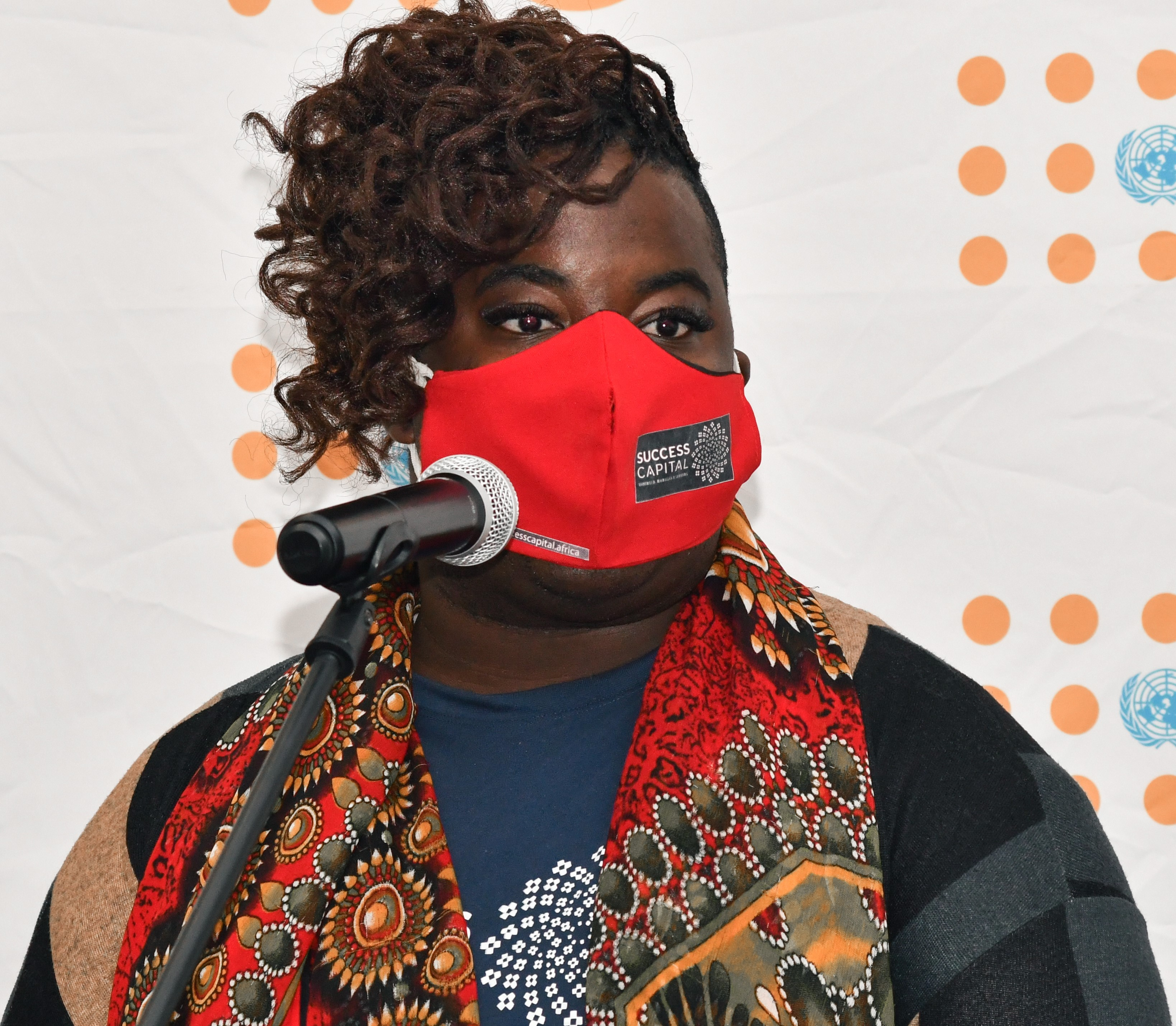 Dumiso Gatsha, an advocate for LGBTQI wants rights of all people to be protected